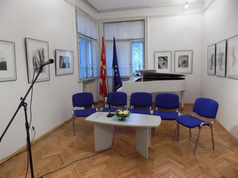 Фотографија од галеријата на КИЦ на РСМ во Софија