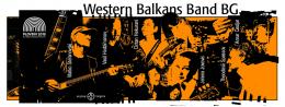 """Концерт на """"Western Balkans Band BG"""" вo Антички театaр, Пловдив (банер)"""