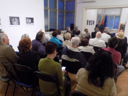 """Претставување на книгата """"Јадица"""" и изложба на театарска фотографија на Владимир Плавевски (фотографија)"""