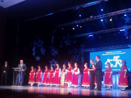 Гостуване на д-р Сашко Насев в Пловдив на официалното предаване на седалището - Европейска столица на културата - на Риека и Голуей (фотография)