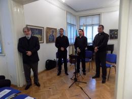 Концерт на Трио Джентълмен в КИЦ на РСМ в София (фотография)