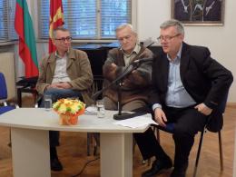 Дванаесетта македонска книжевна визита во Софија (фотографија)