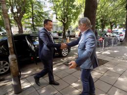 Работно посещение на премиера г-н Зоран Заев в КИЦ на РСМ в София (фотография)