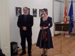 """Соло концерт """"Магична барокна вечер"""" на Наташа Диденко (фотографија)"""