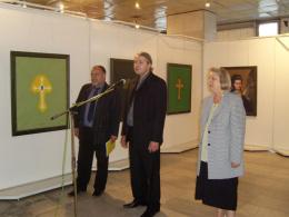 Национална галерия на Македония, проект: Ретроспективна изложба на съвременния художник Новица Трайковски (фотография)