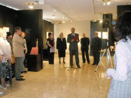 Национална галерия на Македония, проект: Ретроспективна изложба на скулптури от Илия Аджиевски (фотография)