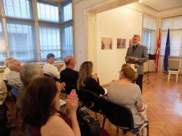 """Концерт на ,,Ад либитум"""" трио во КИЦ на Р. Македонија во Софија (фотографија)"""