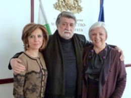 На 28 март 2016 Министерката за култура д-р Елизабета Кaнческа-Милевска во работна посета на Софија, во својство на Претседател на Управниот одбор на Форумот на словенски култури (фотографија))