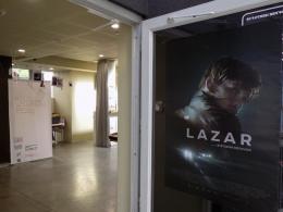 """Прожекция на игралния филм """"Лазар"""" (фотография)"""