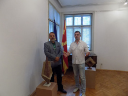 """Изложбата """"Импулси"""" - скулптура на Слободан Милошески (снимка)"""
