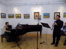 """""""Джаз импресии"""" за пиано и кларинет (снимка)"""