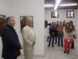 """Изложбата """"Свързване"""" в рамките на """"Нощ на музеите"""" в Пловдив (фотография)"""
