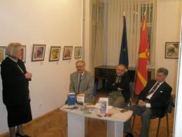 Дружество за издателска дейност Макавей – Скопие, проект: Литературен портрет на Христо Кръстевски (фотография)