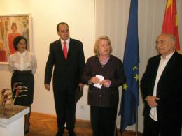 Национална галерия на Македония, проект: Изложба на скулптури од Александър Ивановски-Карадаре (фотография)