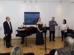 Концерт на Александра Коцевска - мецосопран и Глигор Гелебешев - пиано (фотография)