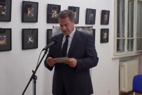 """Промоција на книгата """"Ервехе"""" од Луан Старова во КИЦ - Софија (фотографија)"""