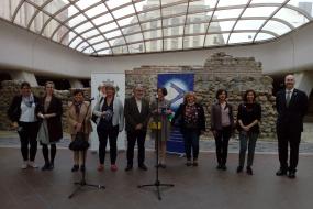 """Романот """"Излегов"""" на о. Пимен беше претставен на Европската ноќ на литературата 2020 и во КИЦ на РСМ во Софија (фотографија)"""