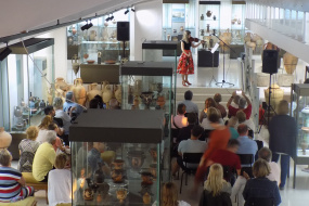 """Учество на КИЦ на РСМ во културната програма на Деветтиот Меѓународен Франкофонски Фестивал """"Солеj"""" во Созопол (фотографиja)"""
