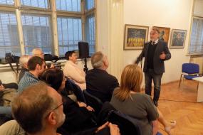 Дванадесета македонска книжовна визита в София (фотография)