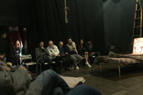 """Претставата """"Страстите на Илија"""" во Благоевград (фотографија)"""