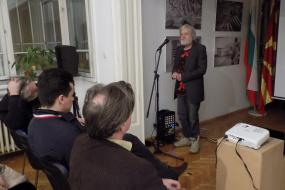Проекција на документарен филм на Георги Кулишев (фотографија)