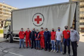 Испратена медицинска помош за Република Северна Македонија (фотографија)