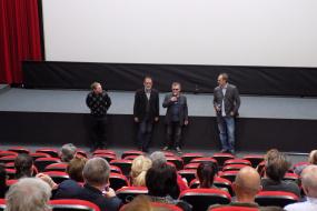 Документарниот филм ЏЕЗМЕН во Кино Одеон, Софија (фотографија)