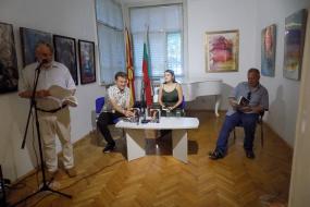 """Промоција на романот """"Емотивен манипулатор"""" од Ксенија Николова во КИЦ на РСМ во Софија (фотографија)"""
