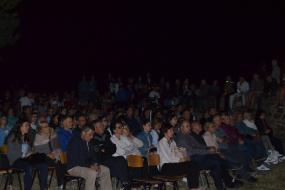 """Игор Дамjанов со монодрамата """"Страстите на Илиja"""" во Виница (фотографиjа)"""