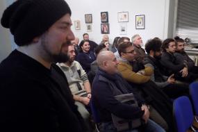 Вечер на младата македонска драматургия (фотография)