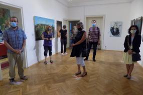 Изложба на Македонското участие в Международния художествен пленер в Созопол - Солей (фотография)