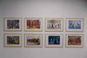 Изложба на Колектив Зеро во софиската One Gallery (фотографија)