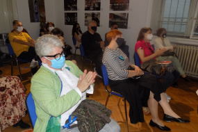 """Промоцијата на книгата """"Преобразби"""" од Владимир Мартиновски во КИЦ на РСМ во Софија (фотографија)"""