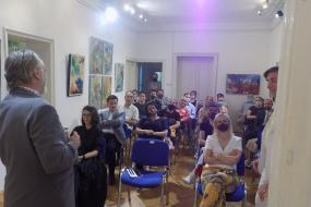 Концерт на Бесиана Мехмеди, Алба Мучоли Дехири и Пранвера Хоџа во КИЦ на РСМ во Софија (фотографија)