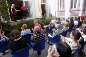 Солов рецитал на пиано дуета Аврамовска – Мариновски (фотография)