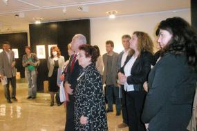 Национална галерија на Македонија, проект: Ретроспективна изложба на скулптури од Илија Аџиевски (фотографија)