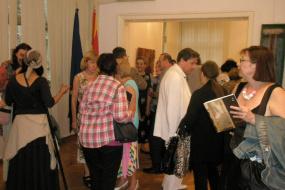 Самостојна изложба на Афердита Кики (снимка)