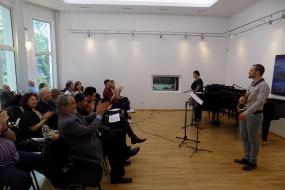 Концерт на Нинослав Димов - саксафон и Маја Поповиќ Караиванова - пијано (фотографија)