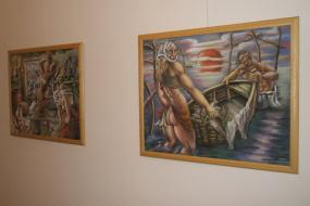 Изложба на Милош Коџоман II (снимка)