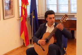 Солистички настап на Дарко Багески (снимка)