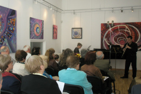 Концерт за пијано и обоа во изведба на Кристина Светиева и Томе Атанасов (снимка)