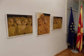 "Изложба ""Неспокој-Спокој"" (снимка)"