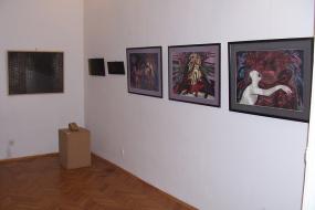 Изложба на осуммина македонски уметници от Р. Македония (снимка)