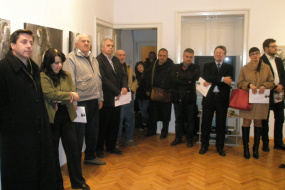 Изложба на Касиопеја Наумоска (снимка)