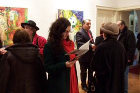 Самостојна изложба на Томе Мишев (снимка)