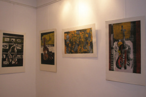 Изложба на Ридван Алити (снимка)