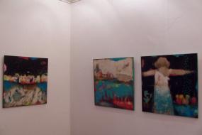 Изложба на ликовната уметница Жанета Гелевска Велјаноска (снимка)