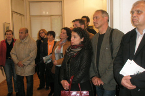 Изложба на Илија Кавкалески-Кавкале (снимка)