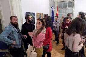 """""""Конекција 2"""" - изложба, музика, стихови (фотографија)"""