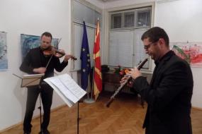 Концертот на Дуо Лазаревски-Крстев (снимка)